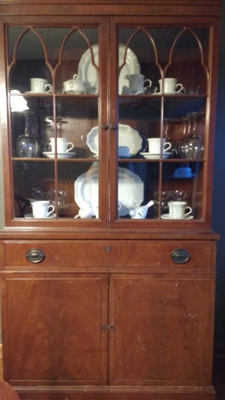 Value of Finch Furniture Dining Set - china cabinet
