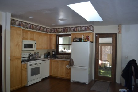 Paint and Curtain Color Advice - kitchen