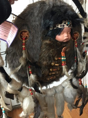 Identifying a Porcelain Doll - Native American style doll