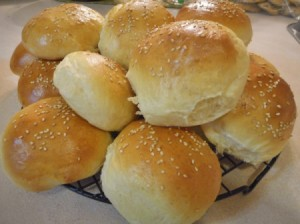 Homemade Hamburger Buns/Rolls