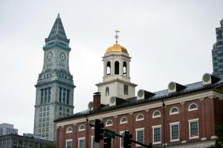 Faneuil Hall in Boston Massachutes.