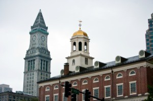 Faneuil Hall in Boston Massachutes.