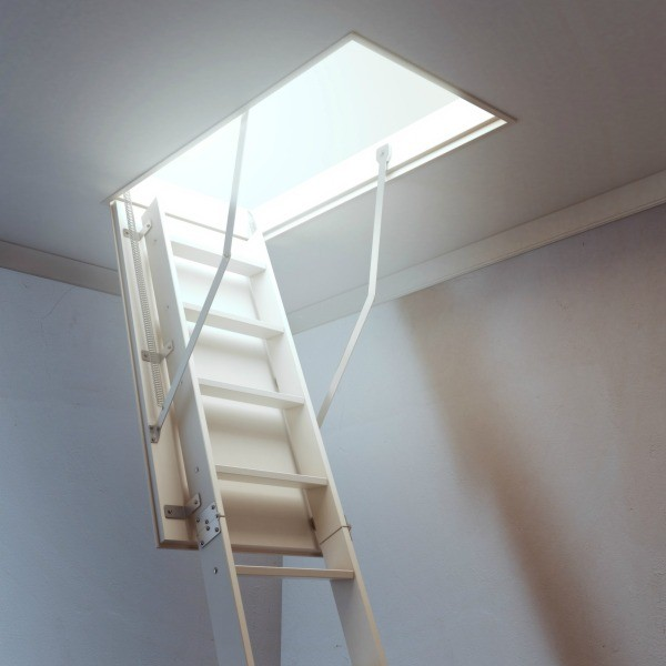 Beau Hideaway Stairs. Any Uninsulated Area In Your Attic Can Reduce The  Effectiveness Of The Overall Home Insulation. Pull Down Attic Stairs If  Left Uninsulated ...