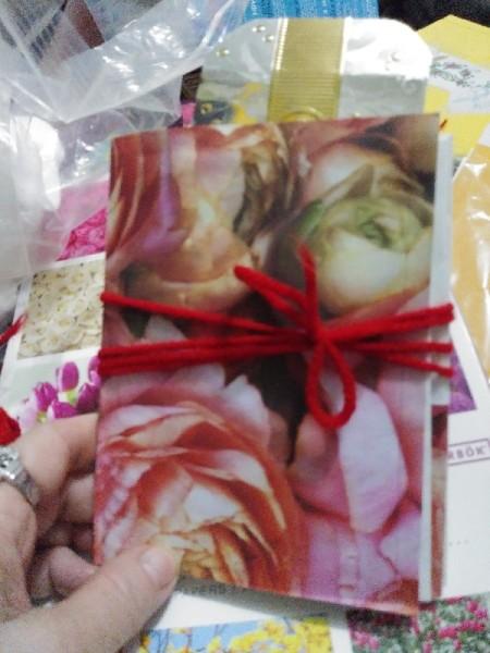 Make a Junk Journal Out of Envelopes - finished journal