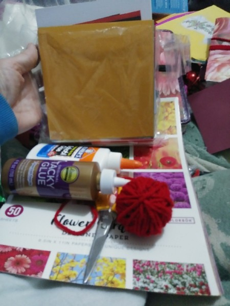 Make a Junk Journal Out of Envelopes - supplies