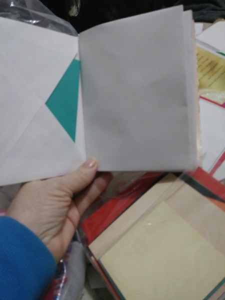 Make a Junk Journal Out of Envelopes - note papers can be slipped into the envelopes
