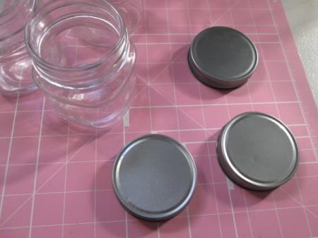 Glass Jar Party Favors - remove lids