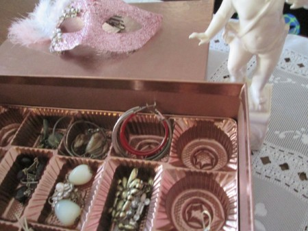 Candy Box Into Treasured Keepsake - keepsakes inside the candy spaces
