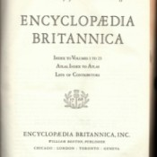 Value of Encyclopedia Britannica - cover page