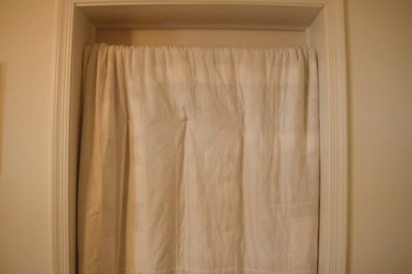 Closet Rod For Hanging Blanket In Doorway Thriftyfun