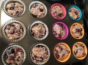 baked Berry Muffins