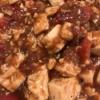 Mapo Tofu in pan
