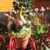The Smallest Fairy Garden - outside on plant shelf