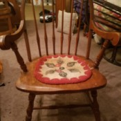 Value of Vintage Chairs - spindle back chairs