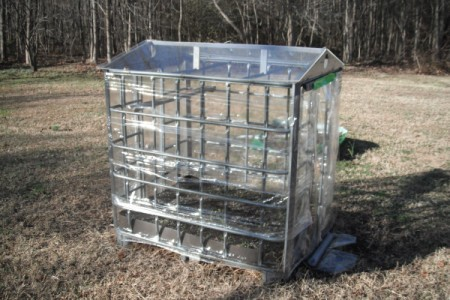Grow your Own Tomato Plants - homemade greenhouse