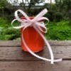 Peppermint Syrup as a Valentine's Gift - glass jar of peppermint syrup