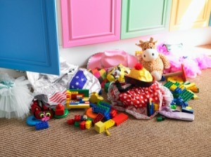 Pile of Toys after Playtime