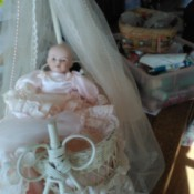 Information on Porcelain Dolls baby doll