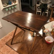 Information on a Gem Folding Table - wooden folding table