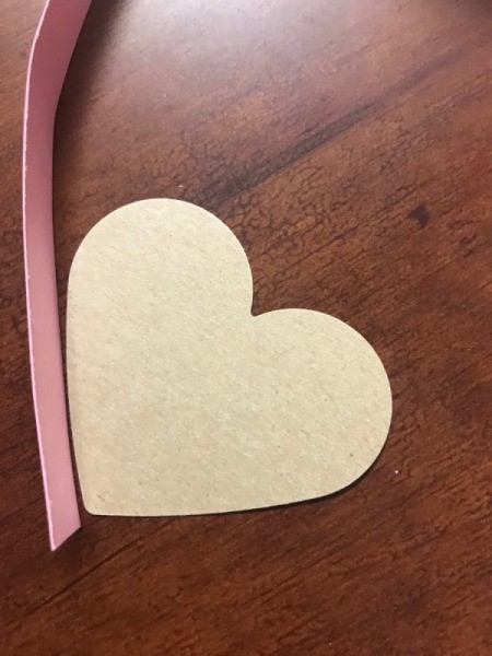 Valentine's Heart Chocolate Candy/Coupon Gift - ready to tape together