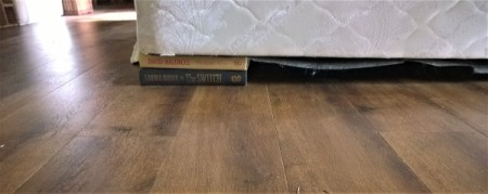 Books Under bed