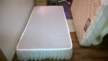 Boxspring With Skirt Glued On