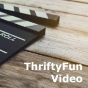 Logo for a ThriftyFun Video
