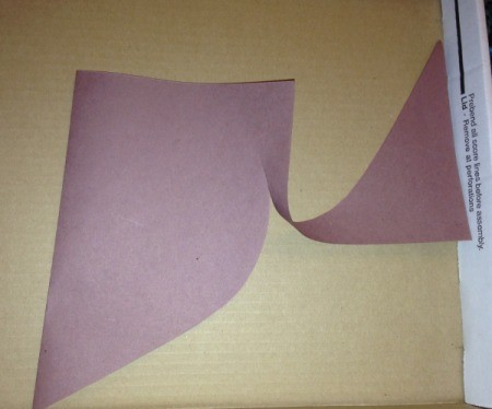 Heart Shaped Paper Groundhog - fold brown paper in half and cut out a heart shape