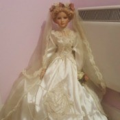 Value of Porcelain Doll - bridal doll