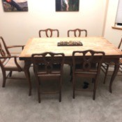 Value of John Breuner Oak Table