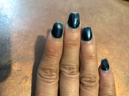 Trimming and Upkeep of Acrylic Nails - once filed and shaped it is time to paint them
