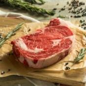 Ribeye Steak With Spices