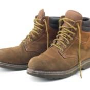 Worn Work Boots