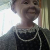 Value of a Large Ashley Belle  Porcelain Doll  - closeup of face