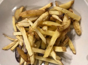 Truffle Salt Fries in bowl