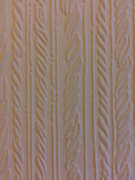 Finding Discontinued Analglypta Wallpaper - closeup of pattern