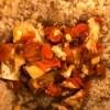Tofu & Carrots on bed of quinoa
