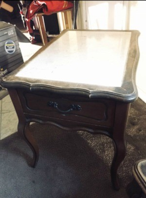 Finding the Age and Value of Mersman Tables - end table