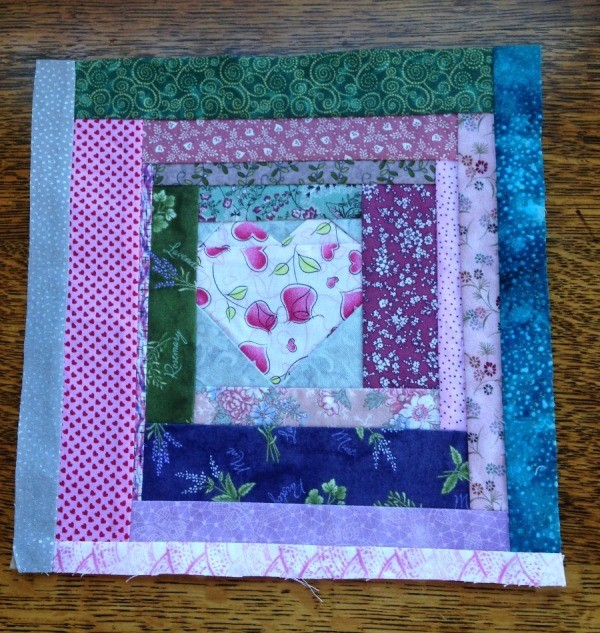 Community Quilt Block - finished block for the guild
