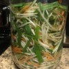 Pickled Bean Sprouts in jar