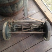 Value of a Peerless Reel Mower - old mower