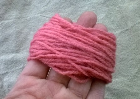 Making a Woolly Monster - wind wool around your fingers