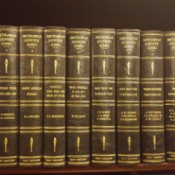 Value of 1930 Set of Smithsonian Scientific Series - books on shelf