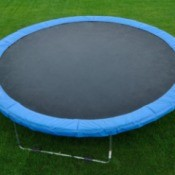 Large Trampoline on grass