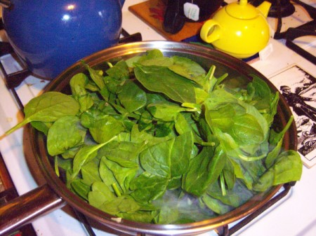 washed Spinach
