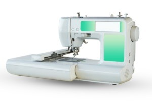Small Brother SE400 Embroidery Machine.