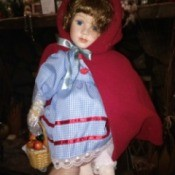 Value of Ashton Drake Dolls - Red Riding Hood style doll