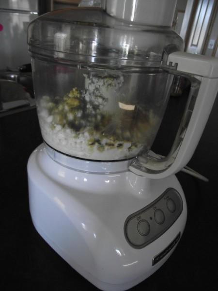 ingredients in food processor