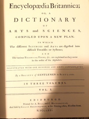 Value of Encyclopedia Britannica Dictionary of Arts and Sciences