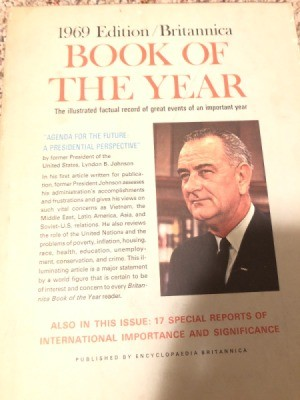 Value of Encyclopedia Britannica Books of the Year